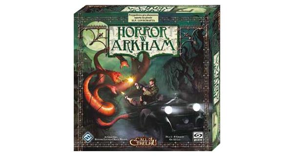 Okładka gry Arkham Horror