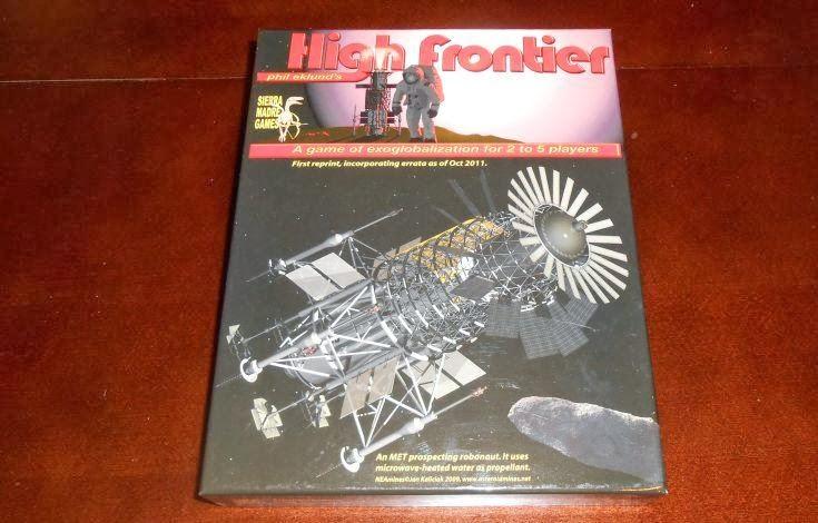 High Frontier gra planszowa symulująca loty w kosmos