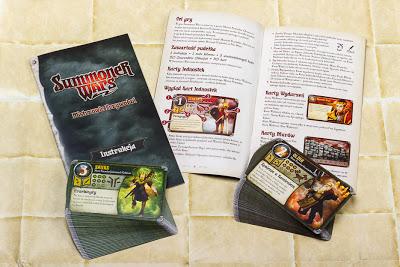 Gra karciana Summoner Wars - Mistrzowie Przywołań - karty i instrukcja
