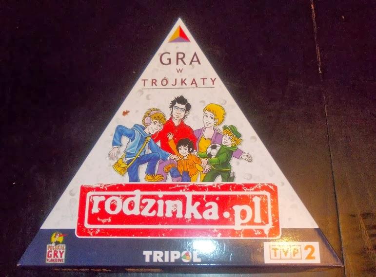 Rodzinka.pl gra planszowa na podstawie serialu telewizyjnego