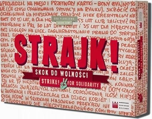 Gra edukacyjna Strajk! Skok do wolności.