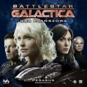 Pegasus dodatek do gry Battlestar Galactica