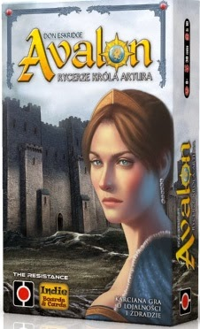 Avalon - rycerze Króla Artura - imprezowa gra karciana w klimatach arturiańskich