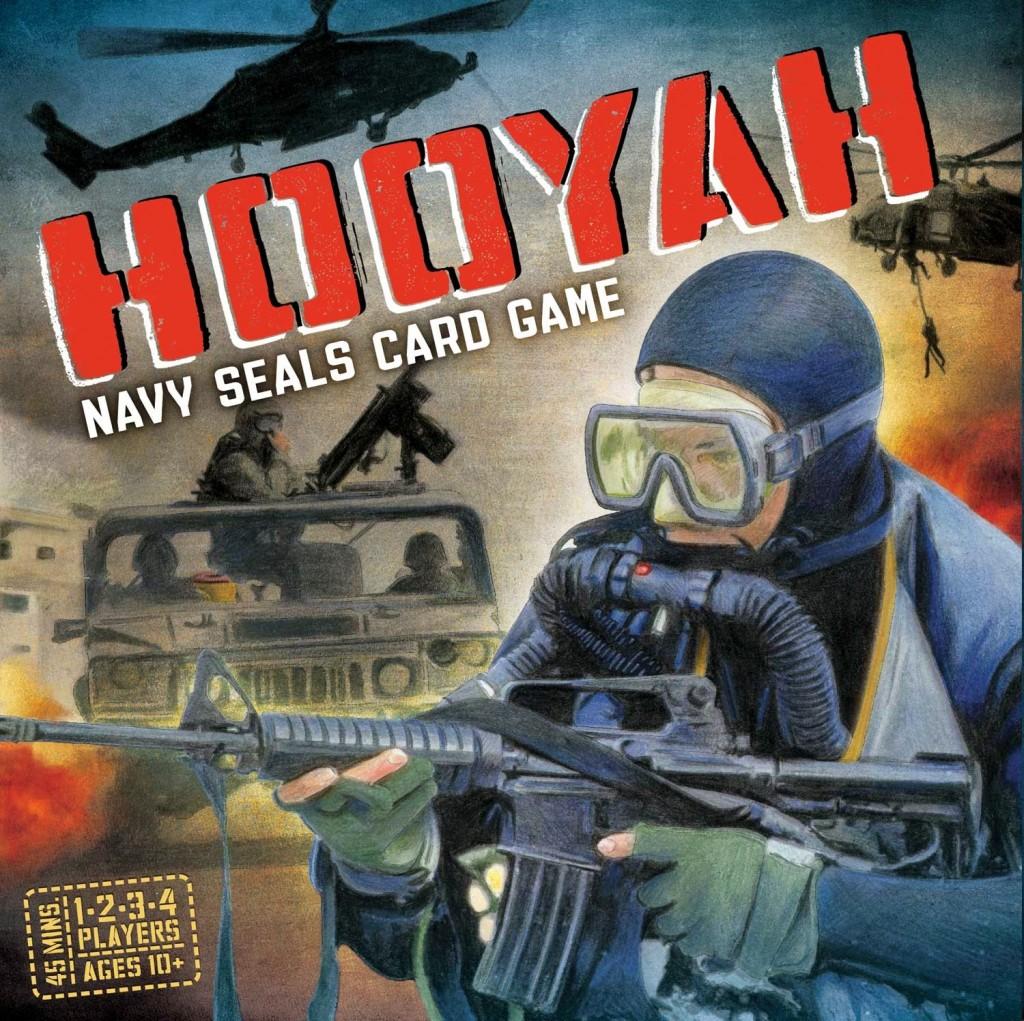 Hooyah - kooperacyjna gra karciana. I Ty mozesz zostać komandosem.