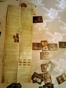 Instrukcja. Bohaterowie Wyklęci - karciana gra historyczna wydawnictwa Fabryka Gier Historycznych