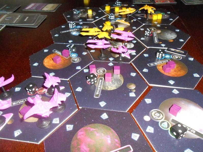 gra planszowa Exodus Proxima Centauri – Revised Edition