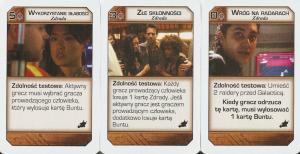 Battlestar Galactica: Świt, karty zdrady
