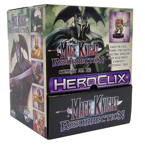 Heroclix Mage Knight Ressurection