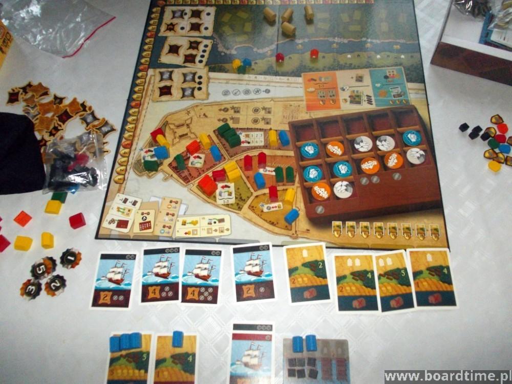 gra planszowa New Amsterdam wydawnictwa White Goblins Games
