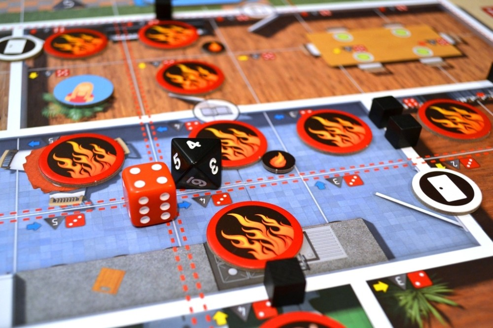 gra planszowa Ognisty Podmuch elementy gry
