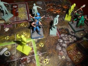 Zpocalypse gra planszowa o zombie