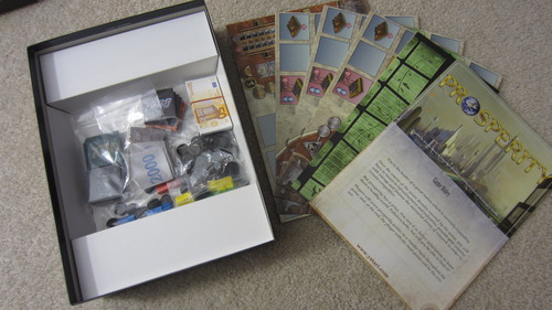 Prosperity - Zwartość pudełka