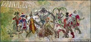 Carnival Zombie - rodzinne zdjęcie