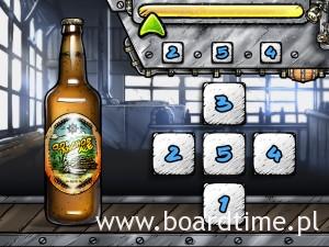 DICE Brewing - gra mobilna o warzeniu piwa. Etykietowanie.