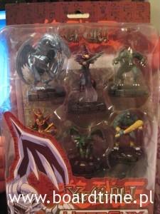 Pudełko Yu-Gi-Oh Heroclix Starter