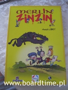 Merlin Zin Zin - kooperacyjna gra planszowa - pudełko