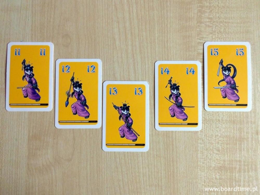 Różnorodne karty