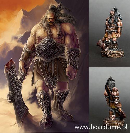 The Wanderers - figurka barbarzyńcy