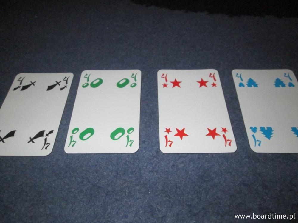 Tichu - recenzja - bomba: cztery karty o takiej samej wartości