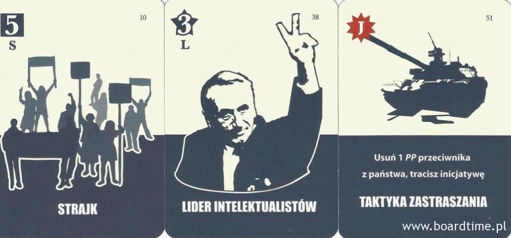 gra planszowa 1989 Jesień Narodów