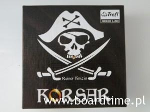 Korsar - recenzja -pudełko