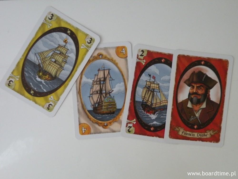 Korsar - recenzja - karty