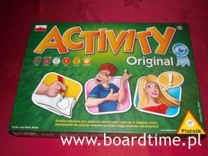 Activity Original - Okładka