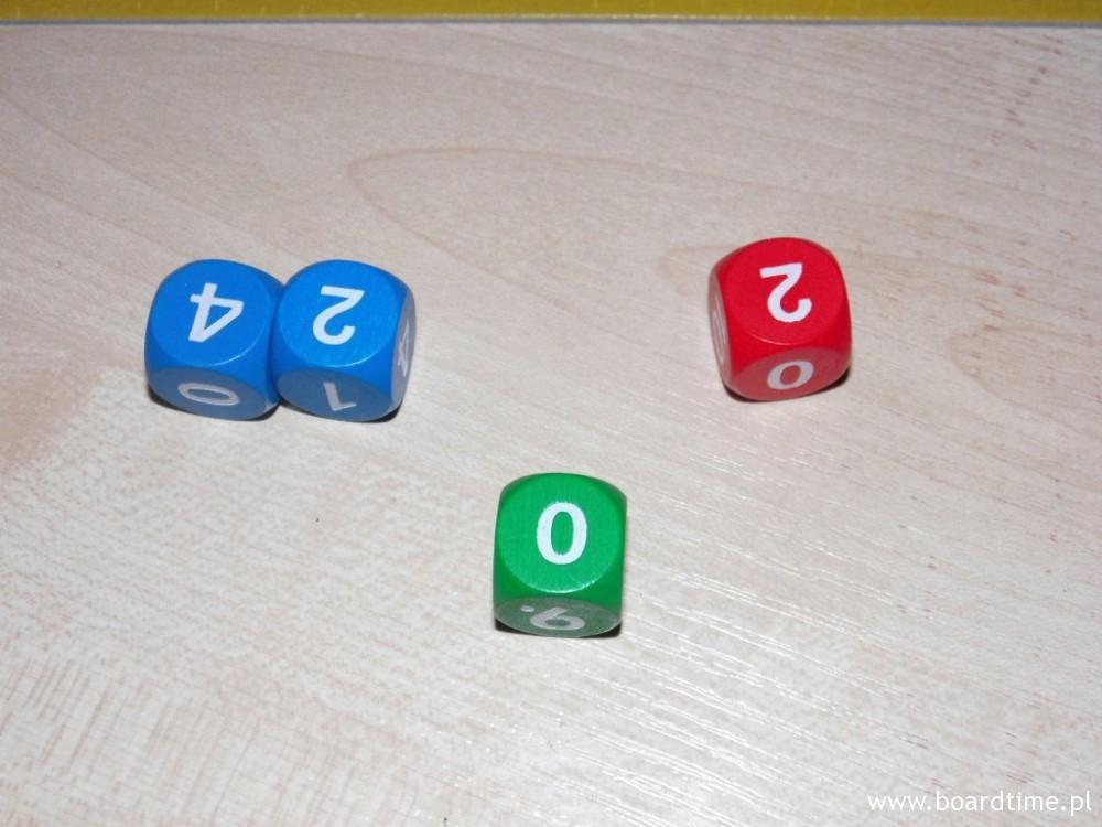 Pierwszy rzut (zostawiamy 2 i 4)