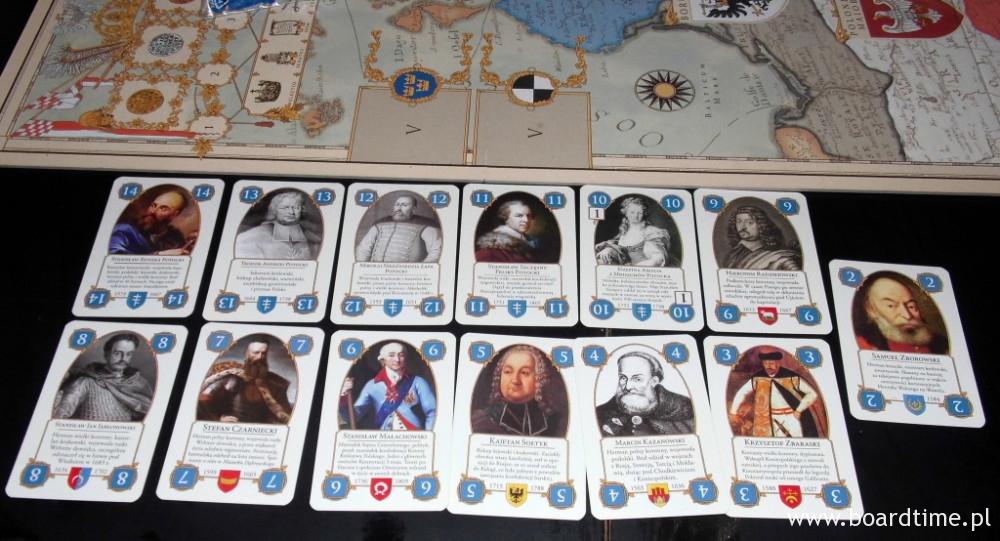 Zestaw kart gracza (Potocki)