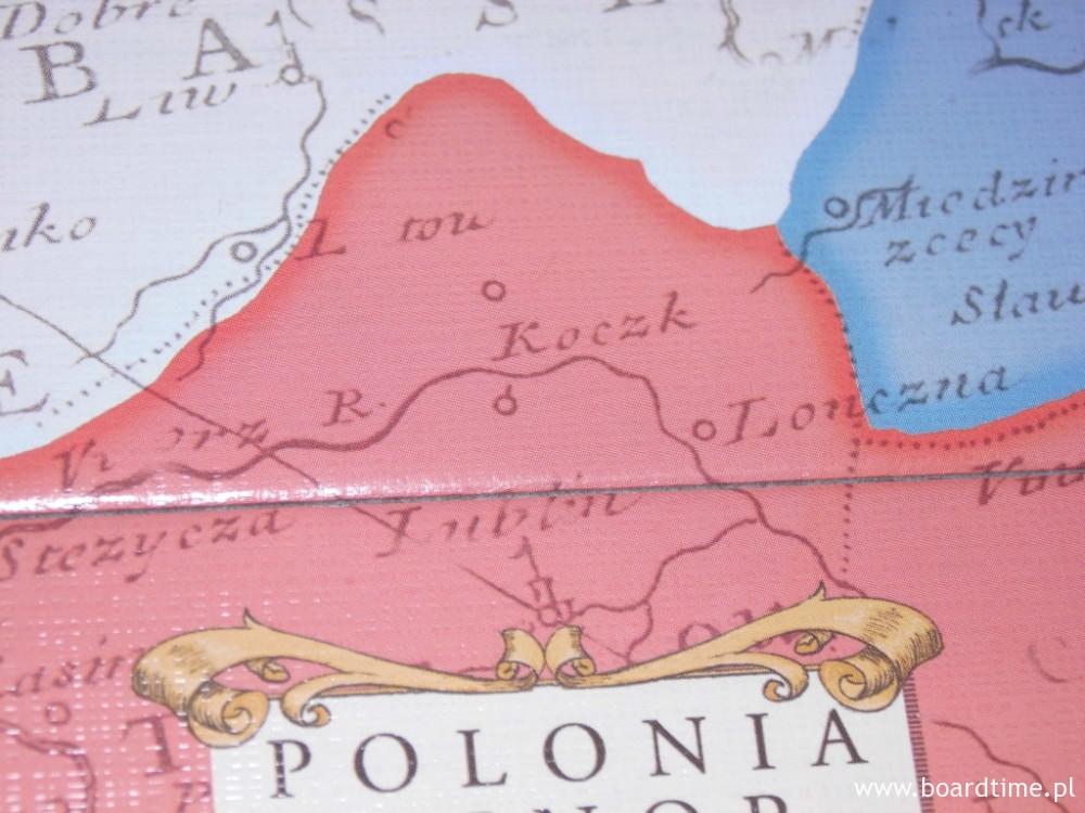 Na mapie mamy też nasz kochany Lublin