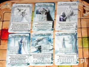 Karty z efektem Mrozu