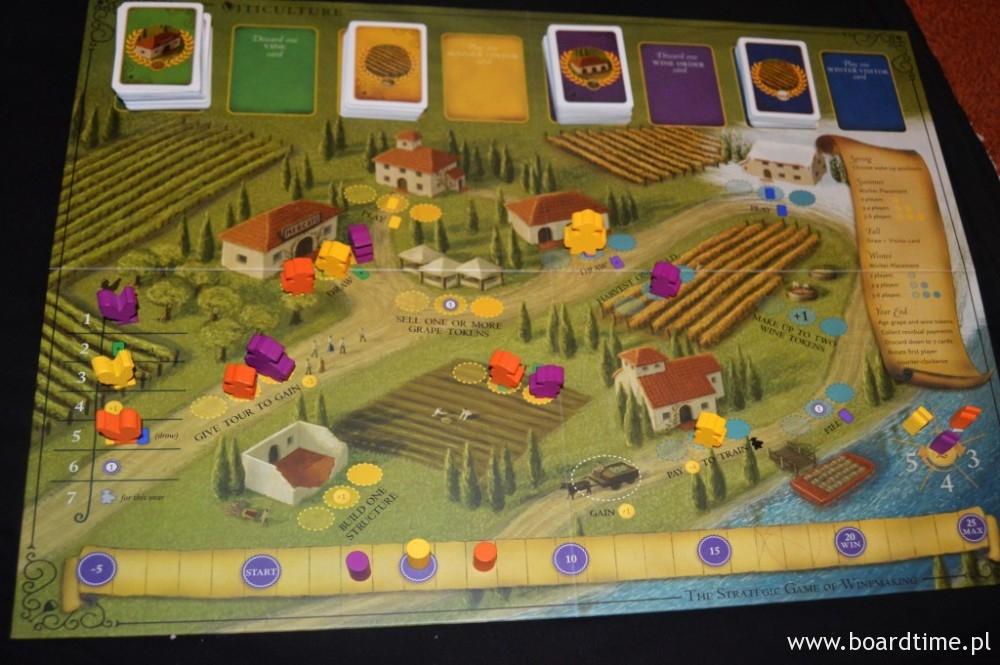 viticulture - plansza