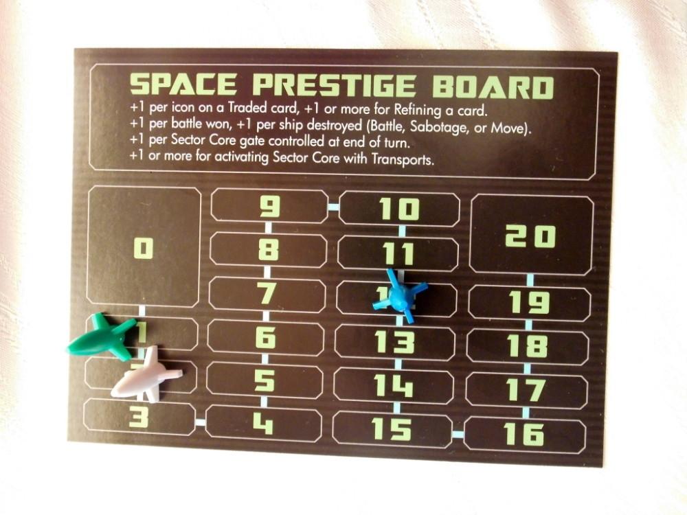 Gramy o kosmiczny prestiż (tu: niebieski ostro z przodu)