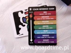 Rozpiska kolorów i zasad