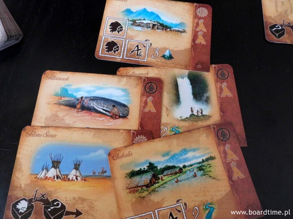 Karty Indian z przepięknymi grafikami