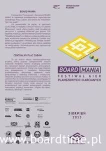 Program Board Mania CPZ