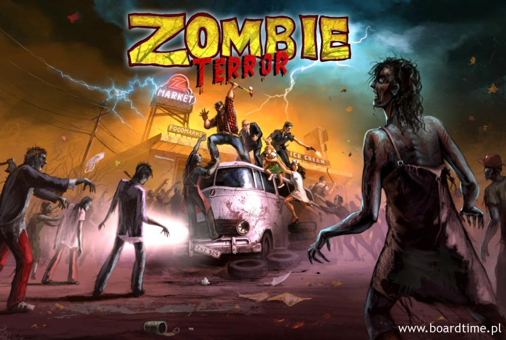 Zombie Terror Finalna Okładka