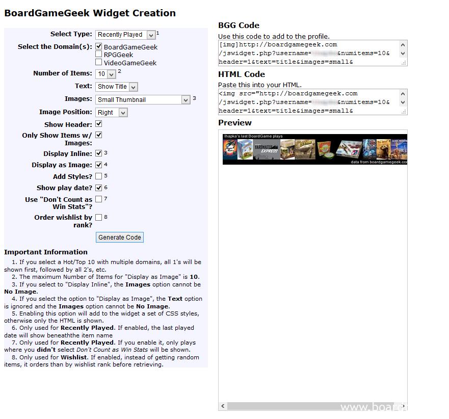 Tworzenie widgetu (tu: utworzyliśmy listę 10 gier, w które ostatnio graliśmy)