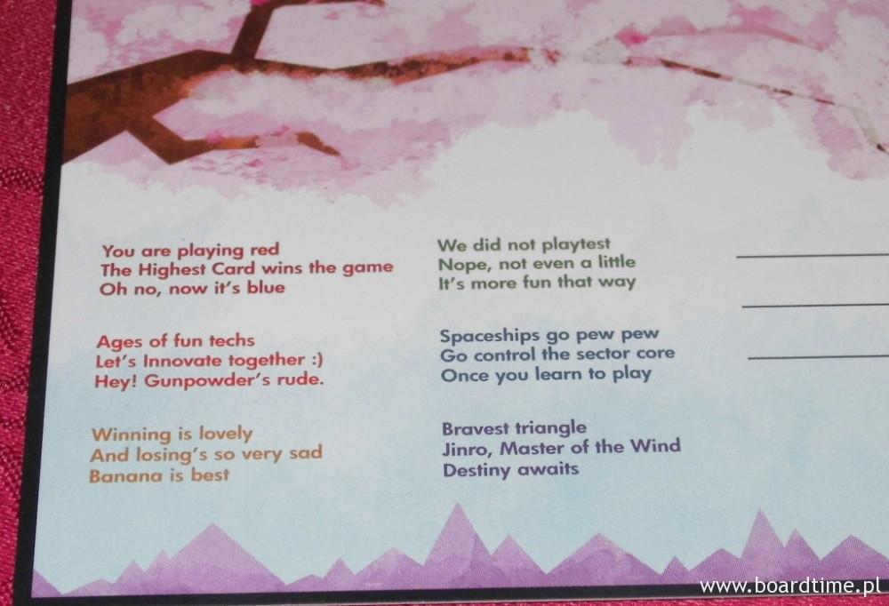 Haiku na dołączonej pocztówce. Potraficie odgadnąć wszystkie?