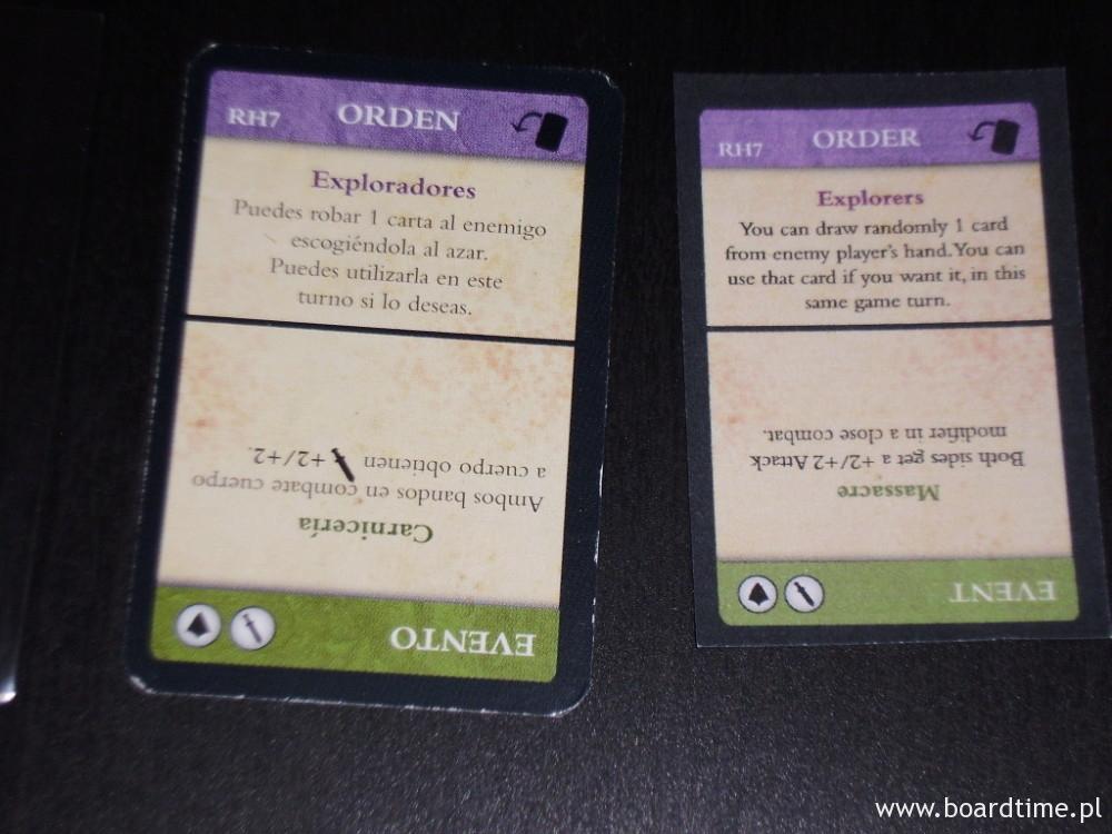 Karta rozkazu/wydarzenia