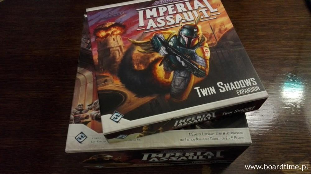 """Dodatek """"Twin Shadows"""", a pod spodem core set """"Imperial Assault"""""""