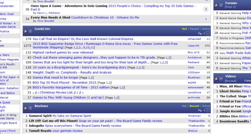 Strona główna -> Sekcja geeklists