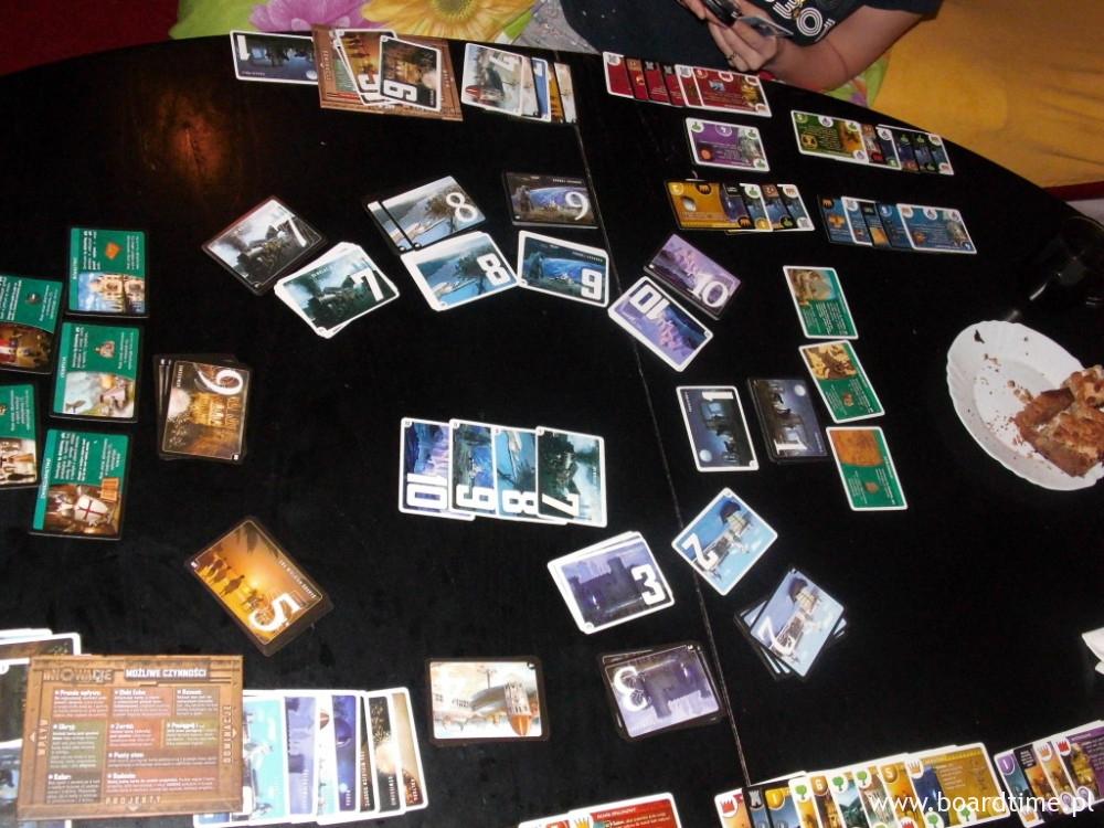 Stół na koniec gry