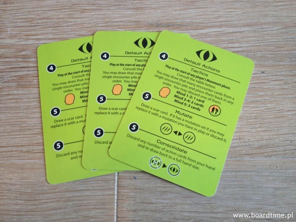 Karty mutantów. Zielone, a jakżeby inaczej!