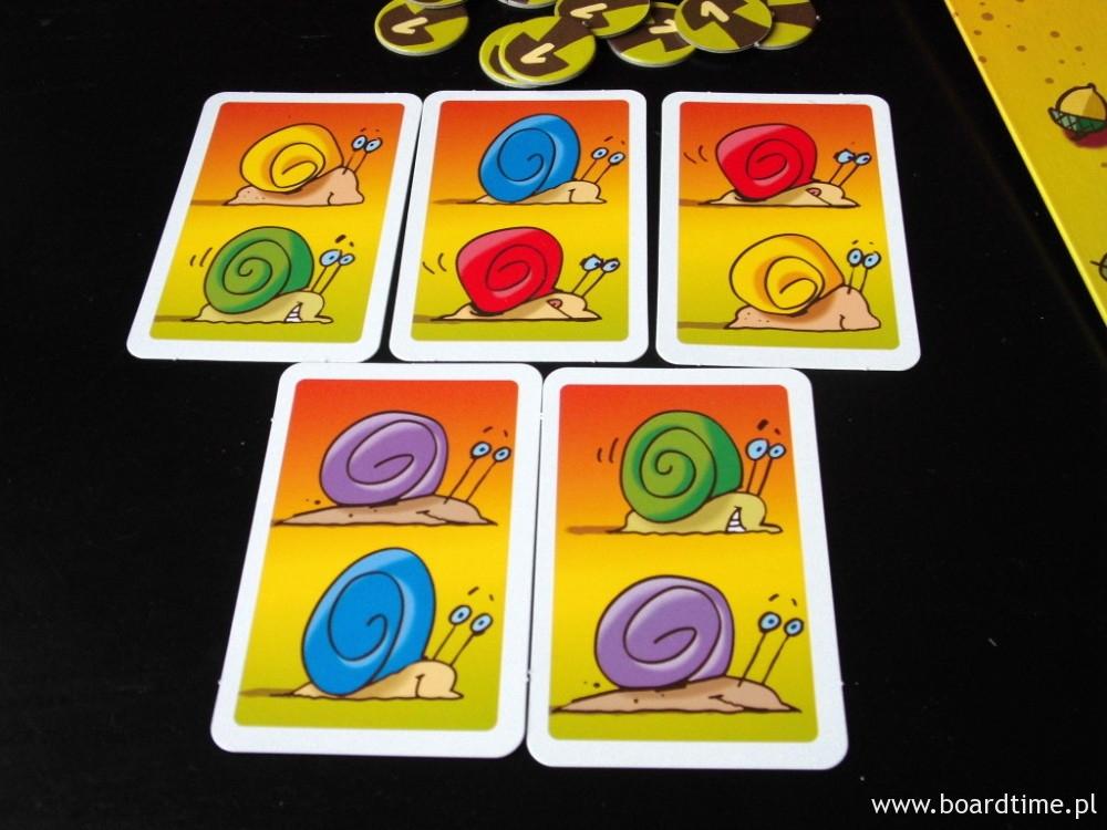 Karty ślimaków