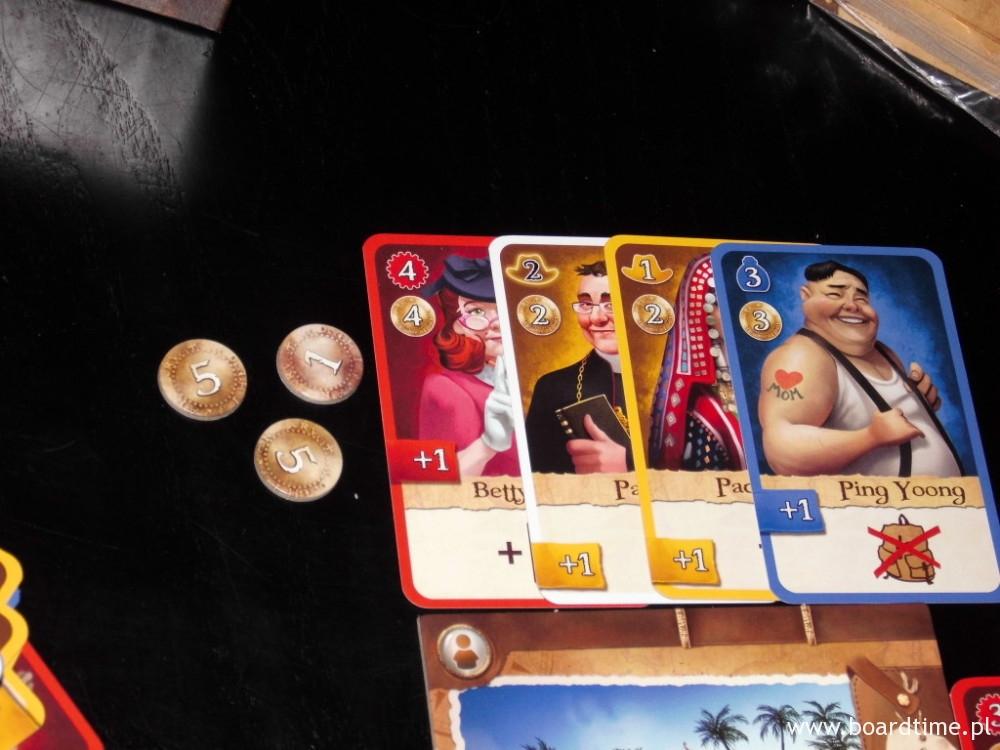 W tej rundzie za członków wyprawy gracz otrzyma 11 punktów