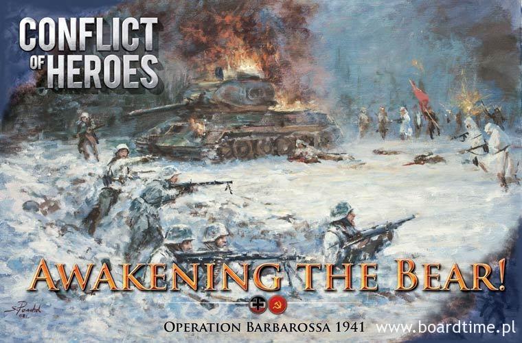 Klimatyczna okładka Conflict of Heroes