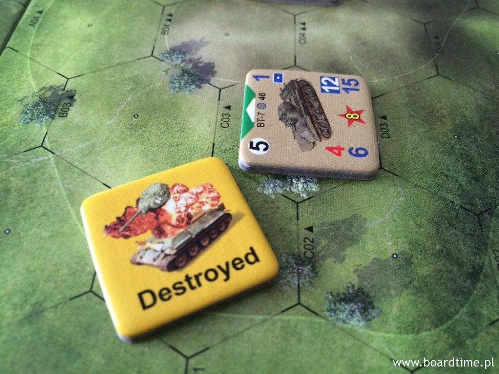 Bezpośrednie trafienie zakończone zniszczeniem celu