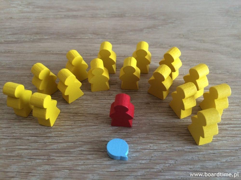 Zakładnicy, porywacz i znacznik punktów konwersacji