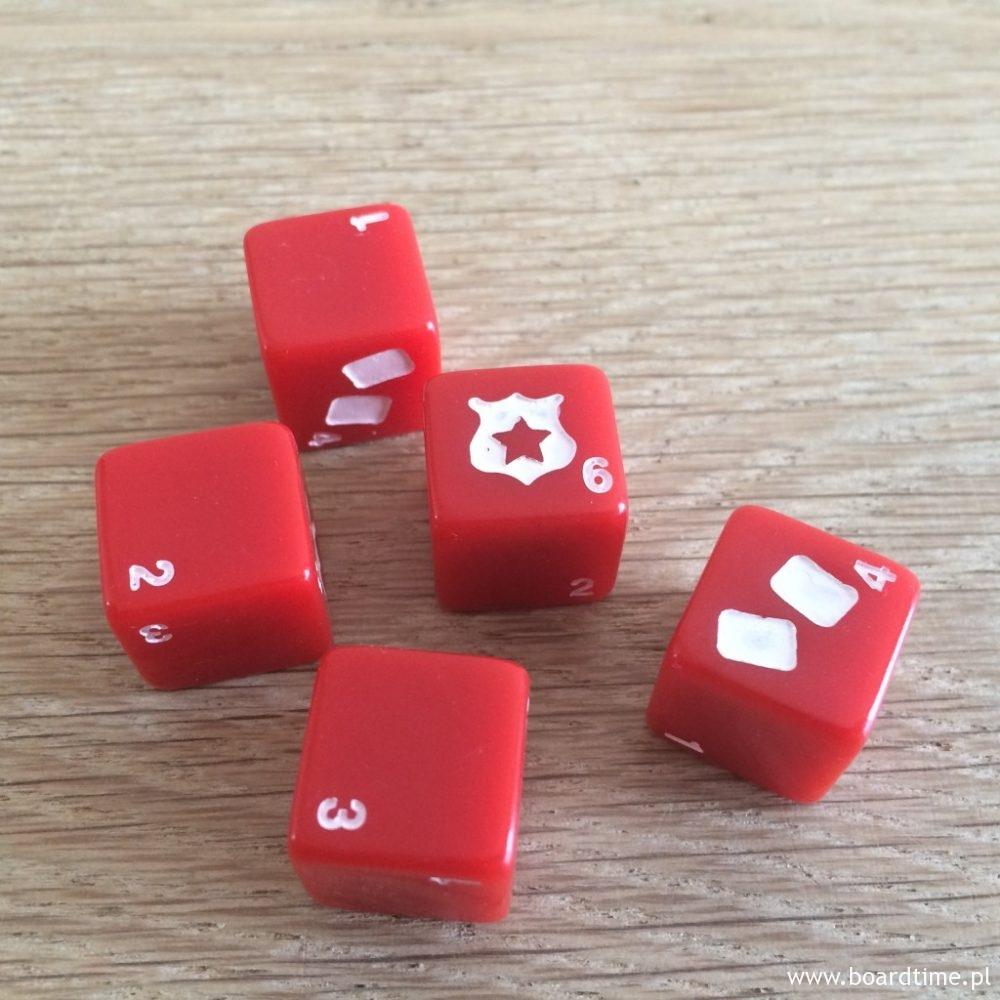 Pięć kostek - chwile, gdy rzucamy wszystkimi będą bardzo rzadkie